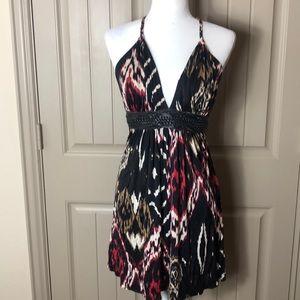 Sky Mini Halter Dress